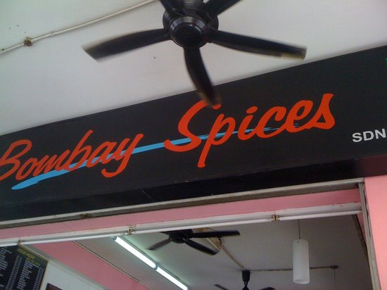 Bombay Spices: 看板