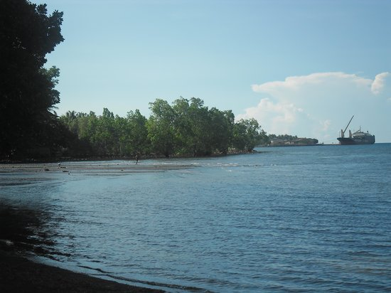 Gingoog City, Filipiny: salt water and spring water