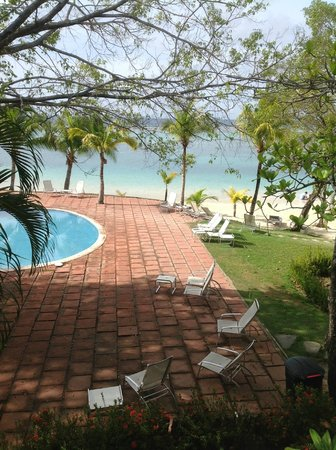 Fantasy Island Beach Resort: Desde el balcon