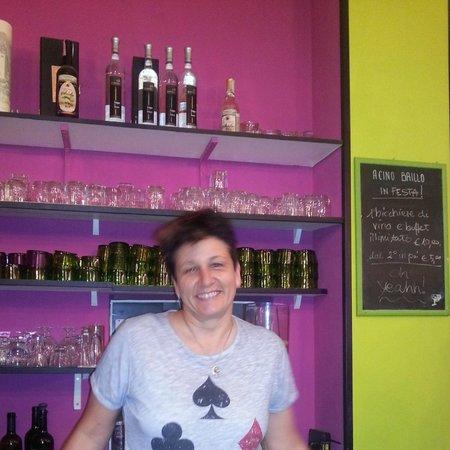 Acino Brillo: la proprietaria Antonella
