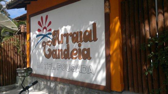 Hotel Pousada Arraial Candeia: Foto entrada