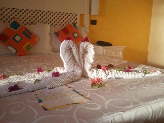 Andilana Beach Resort : Benvenuto in stanza
