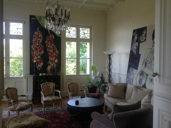 Château Bellevue : reception room