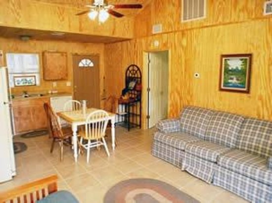Sunrise Ridge Cabins : Living Room