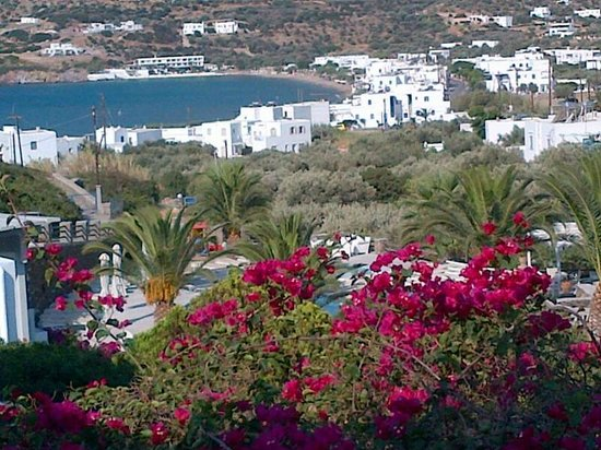 Alexandros Hotel: View from the breakfast terrace