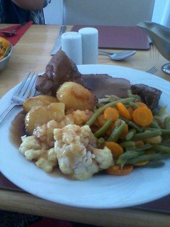 Tom Sawyer's Restaurant and Bar: Lovely Sunday roast