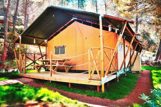 Camping Village Le Pianacce: Lodge Tent - Safari Tent