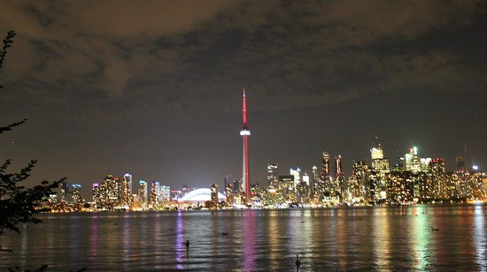 Toronto Bicycle Tours : Toronto @ Night