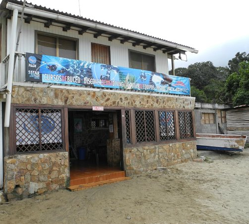 Chichiriviche de la Costa, เวเนซุเอลา: Fachada Scubatec Dive Center