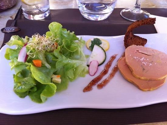 O moulin: salade de foie gras