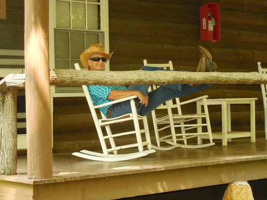 Pisgah View Ranch : Kickin' Back on Our Porch