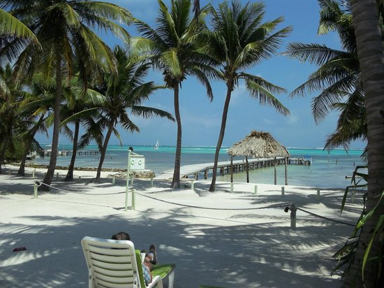 Caye Casa : View from our room
