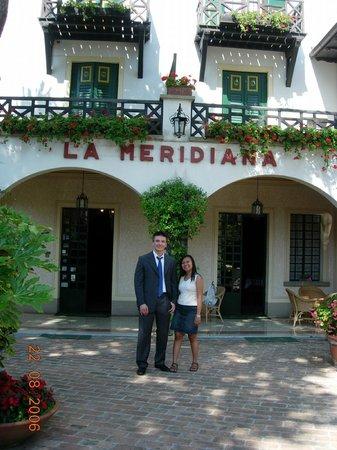 Hotel La Meridiana: Ingang