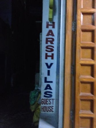 Harsh Vilas Guest House: entrada