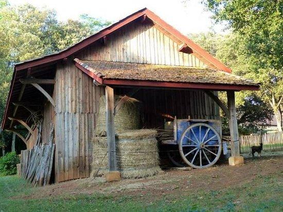 Hameau du Sentier des Sources : La grange
