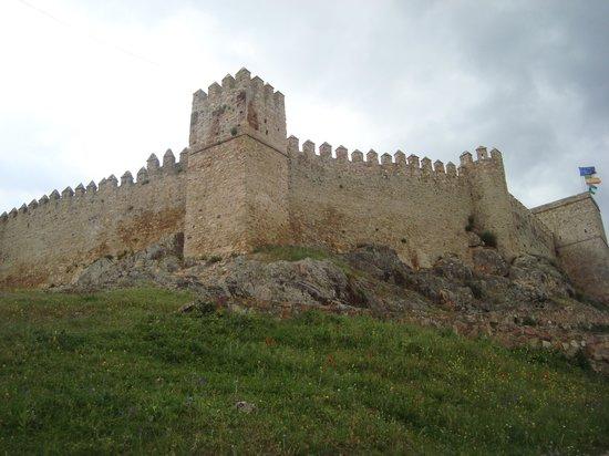Santa Olalla del Cala, إسبانيا: La muralla