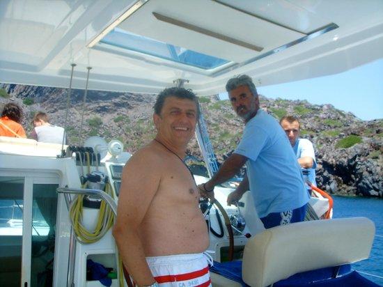 Spiridakos Sailing Cruises: Captain Spyros