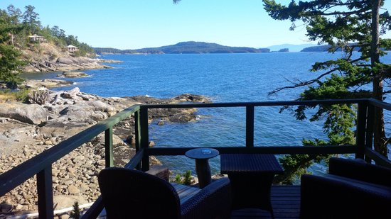 Rockwater Secret Cove Resort: View from our Cabin (#11)