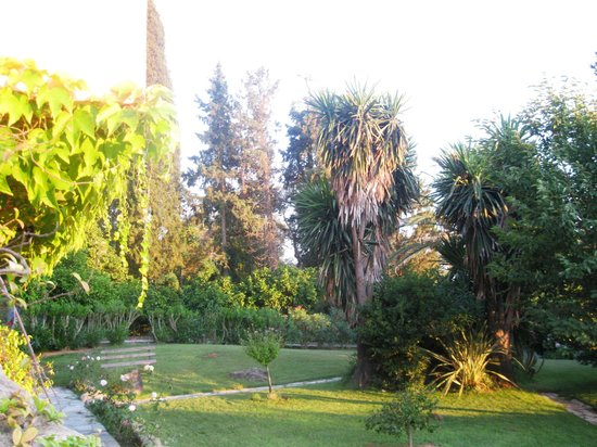 Corfu Club Apartments: ...beautiful gardens...