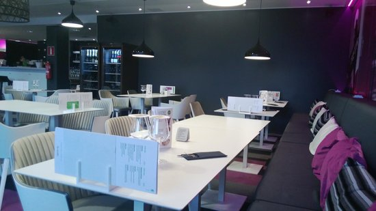 Scandic Tampere Station: Restaurant downstairs