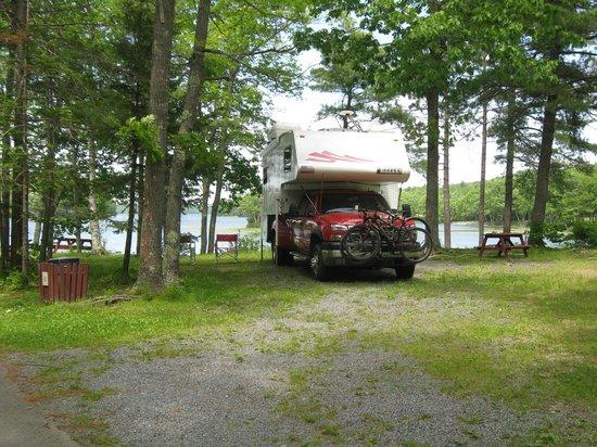 Shore Hills Campground : Big Pine Point
