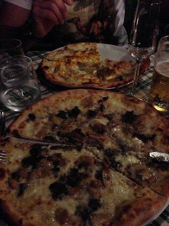 Il Casaletto: pizza porcini e tartufo e amatriciana!