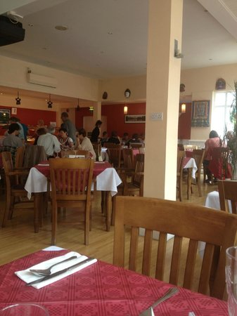 Gurkha Oriental Palace: The view from our table