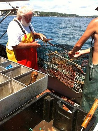 Lobster Boat Tour w/ Captain Clive Farrin: Captain Clive