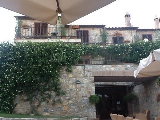 Hotel Resort Antico Casale di Scansano: Stanze con veranda