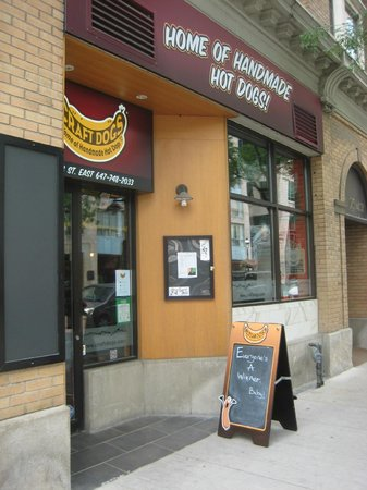 Craft Dogs: Entrance, 95 King Street East