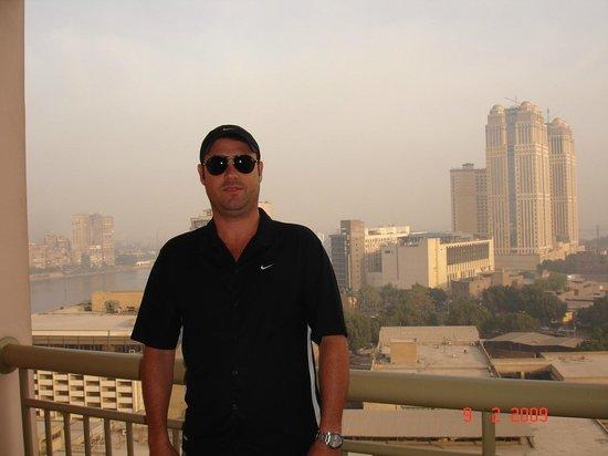 Conrad Cairo: Sacada da minha suíte