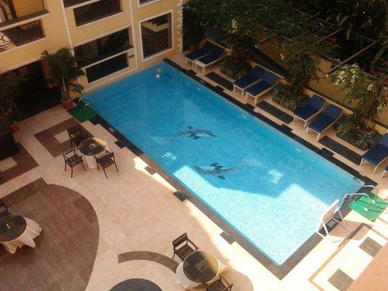 Resort De Coracao: View from the room balcony