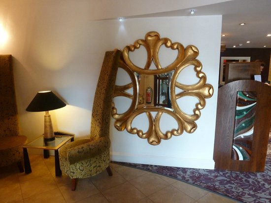 Barton Grange Hotel: reception area