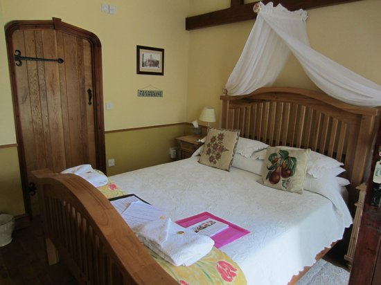 The Beeches Farmhouse: this was our bedroom