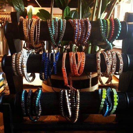 Mint: Wrap bracelets