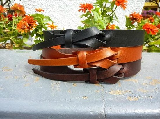 Mint: Muse leather belts