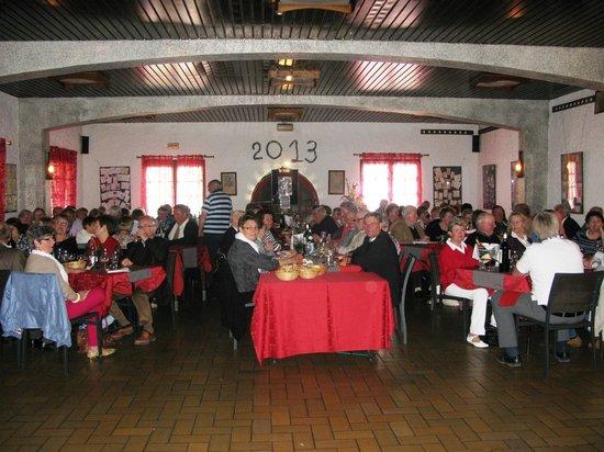 Auberge Champenoise : Banquet
