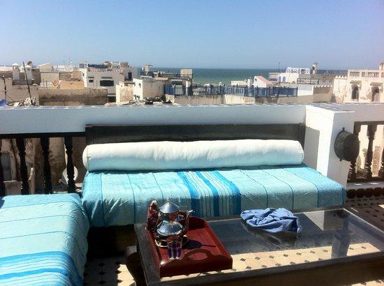 Riad Bab Essaouira : rooftopview