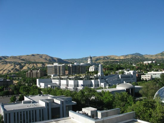 Salt Lake Plaza Hotel: View from our hotel room