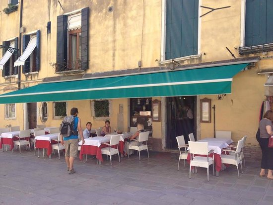 L'Incontro: Restaurant very understated, don't miss it!