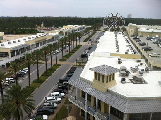 The Wharf: Our daytime view from our front balcony