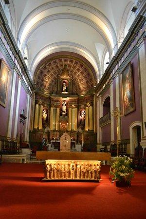 Catedral Matriz: Altar principal.