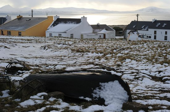 Tory Island: A wintersday  in Tory