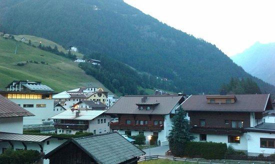 Hotel Rosengarten: View from the room