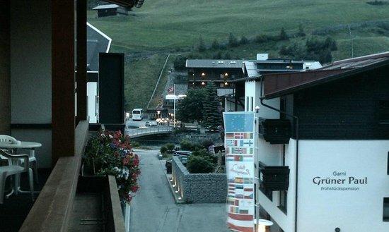 Hotel Garni Das Zentrum: View from the balcony