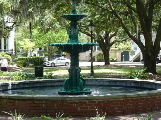 Lafayette Square: fountain
