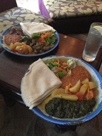 Im Herzen Afrikas: Essen