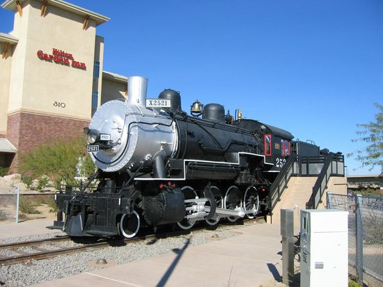 Hilton Garden Inn Yuma Pivot Point: on-site old-fashioned train