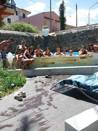 Palazzo Sciacca: La piscina idromassaggio