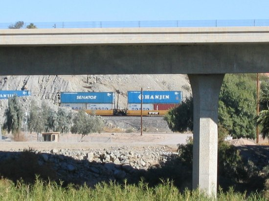 Passing Train Picture Of Hilton Garden Inn Yuma Pivot Point Yuma Tripadvisor